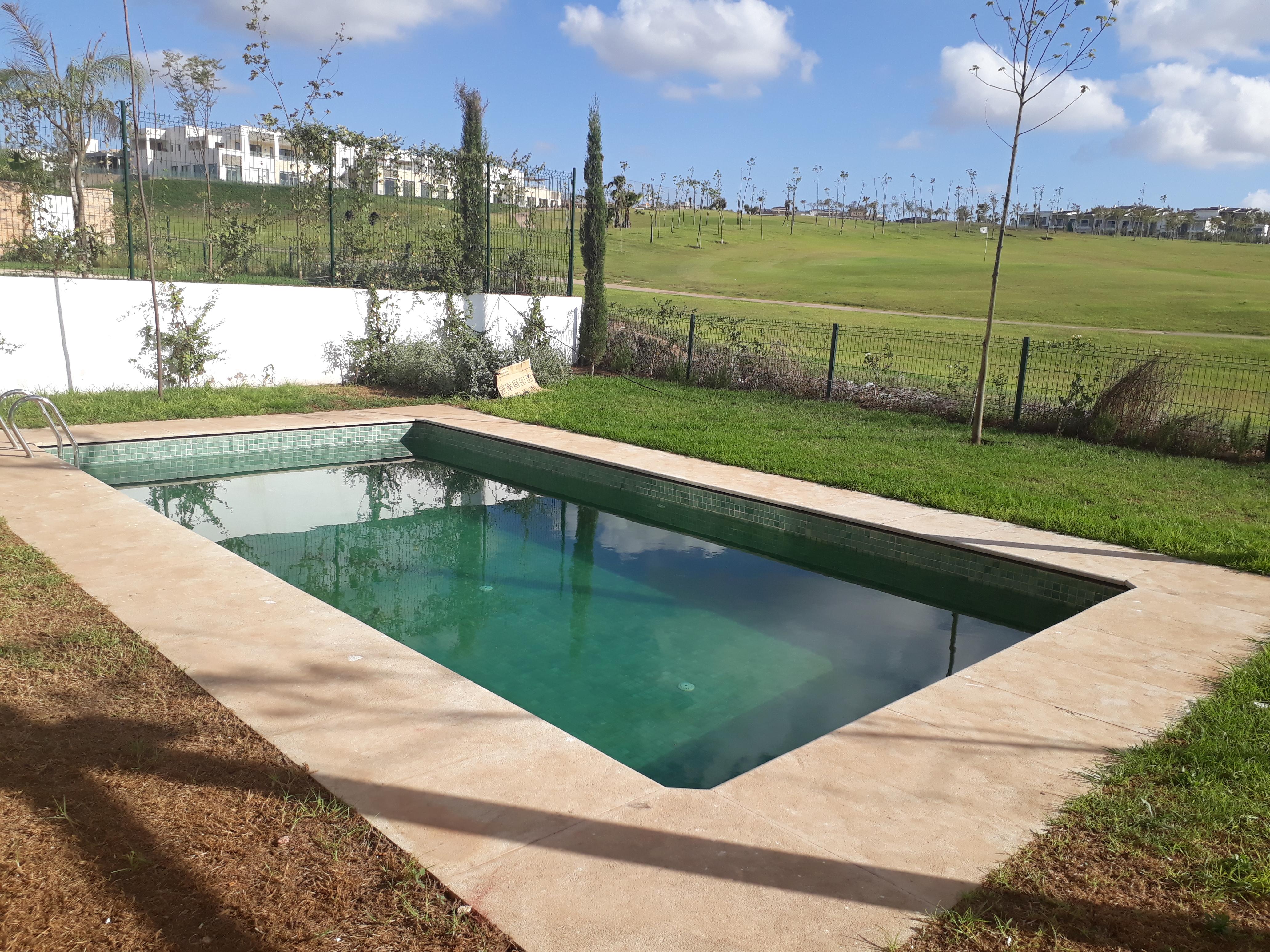 location villa bouskoura
