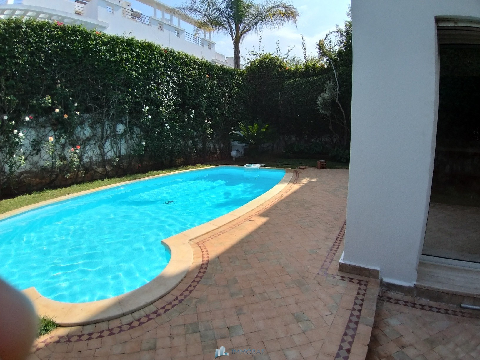Villa à Louer Vide Quartier Ain Diab Casablanca