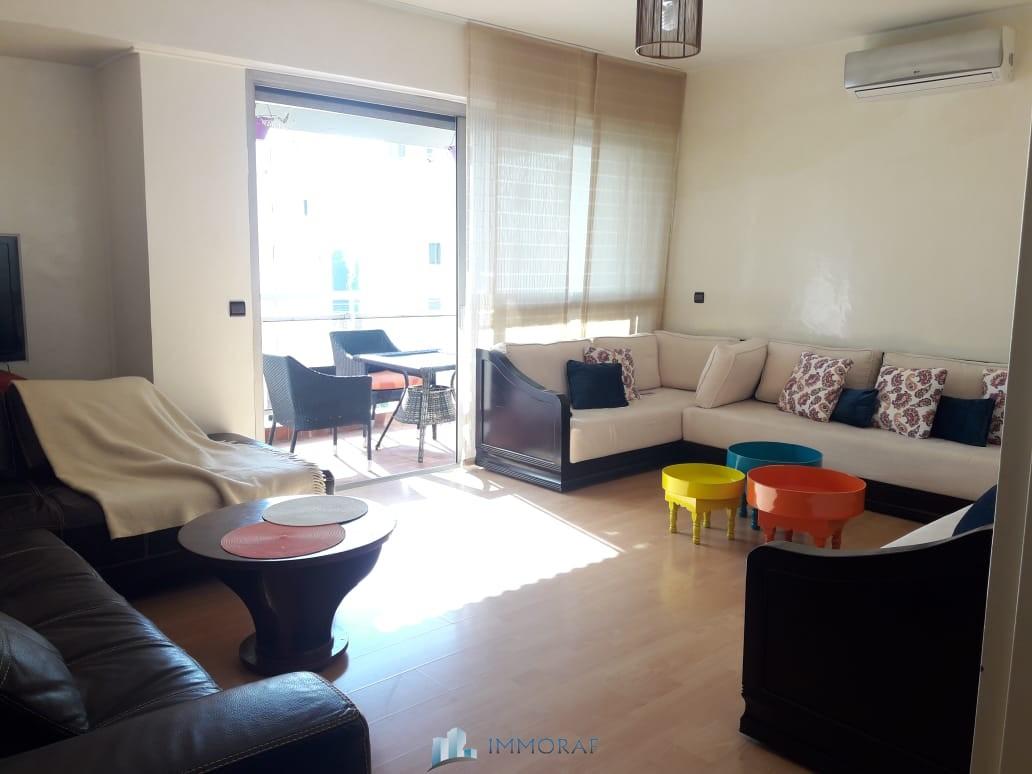 Location appartement meublé Romandie 2 quartier Maarif Casablanca