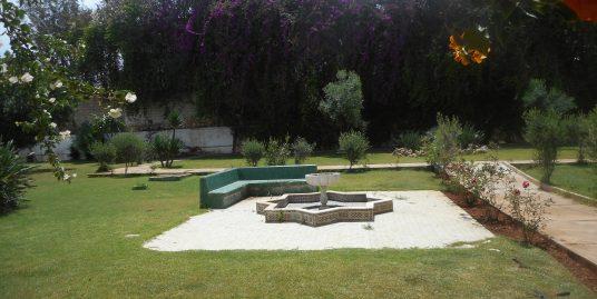 Vente Appartement rez de jardin Ain Diab