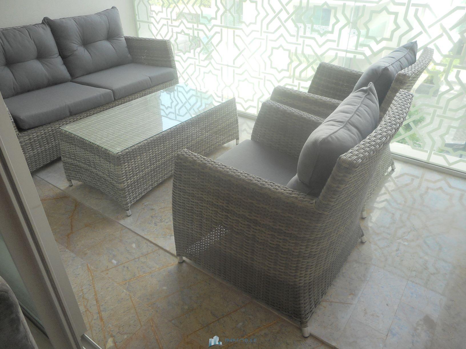 Location Appartement meublé Finance City Casablanca