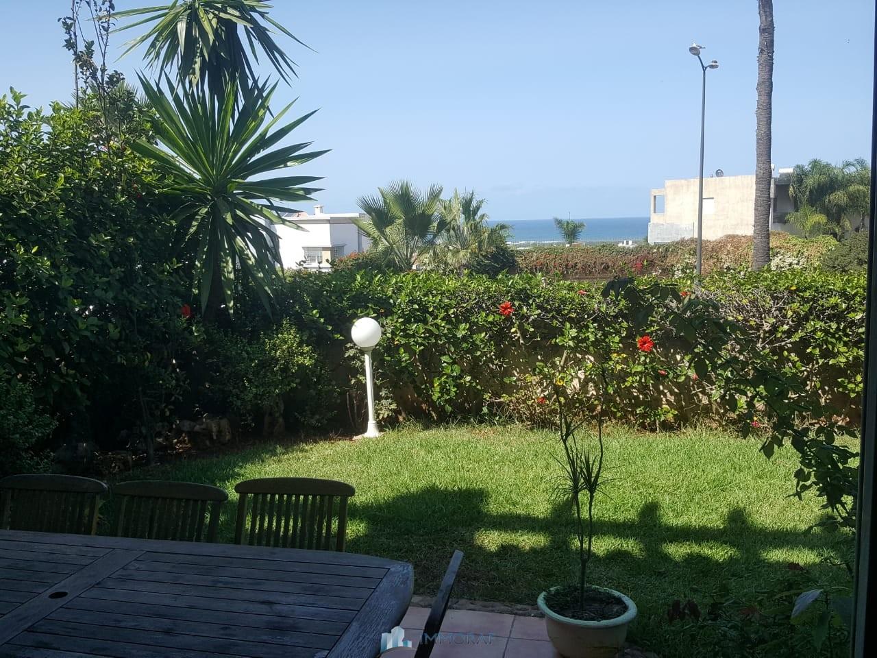 Location villa vide quartier Ain Diab Casablanca